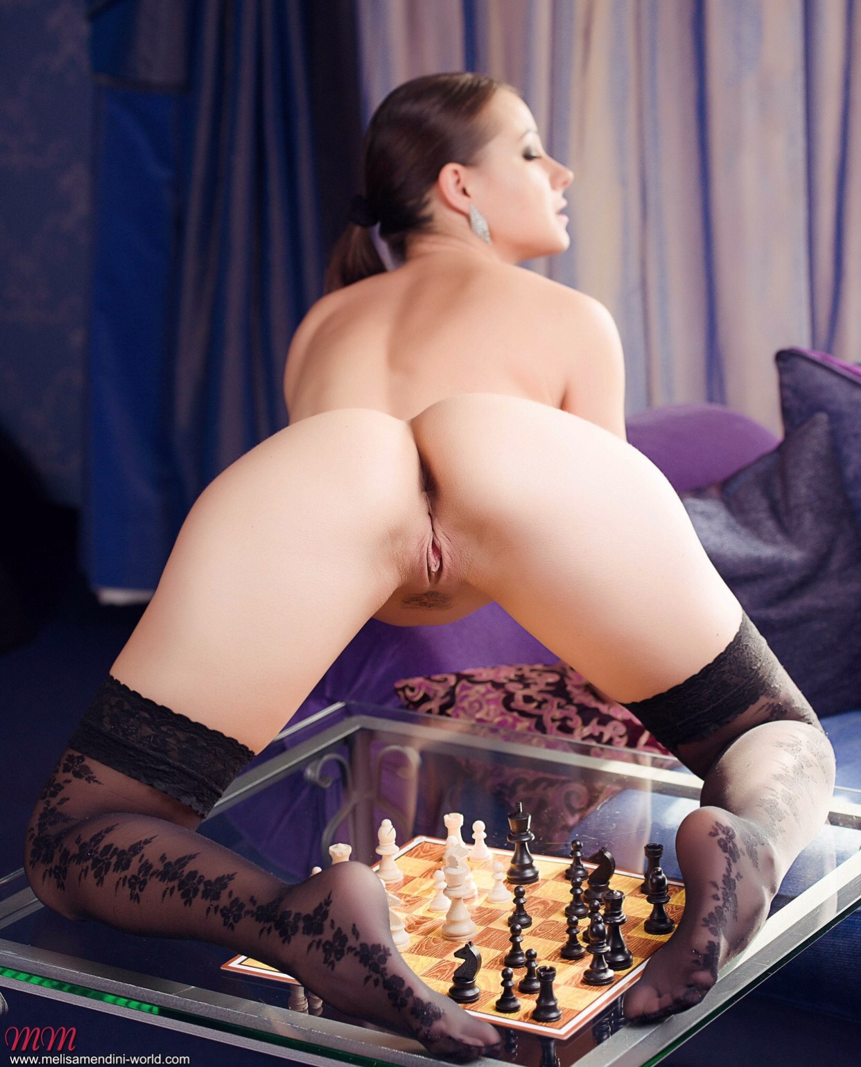 MMW chess game set stockings